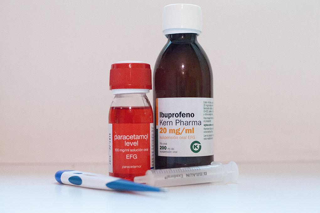 Ibuprofeno eta Parazetamola pediatrian