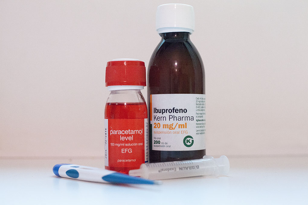 Ibuprofeno y Paracetamol en pediatría