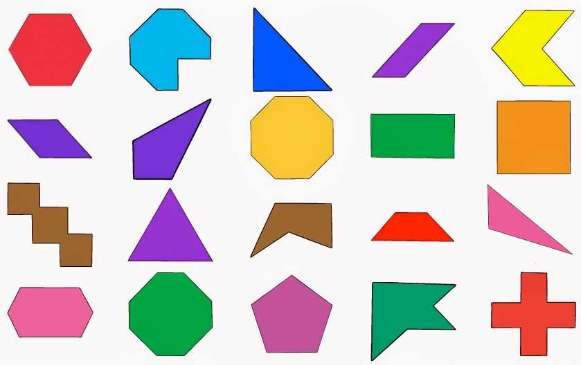 El mundo de los origamis. Geometría